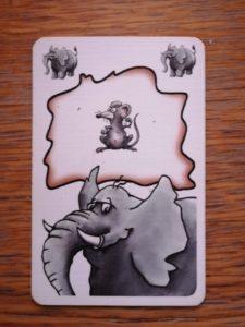 Der Elefant bei Zoff im Zoo kann nur von der Maus geschlagen werden!