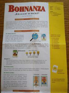 Bohnanza Spielanleitung als PDF